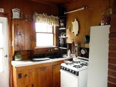 Kitchen in Lily Bay Cottage - #131 Cottage on water`s edge with 360 degree views! - Greenville - rentals