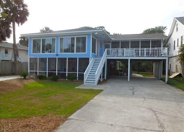 Exterior - A Peace of Time-Upstairs - New Swimming Pool! - Folly Beach - rentals