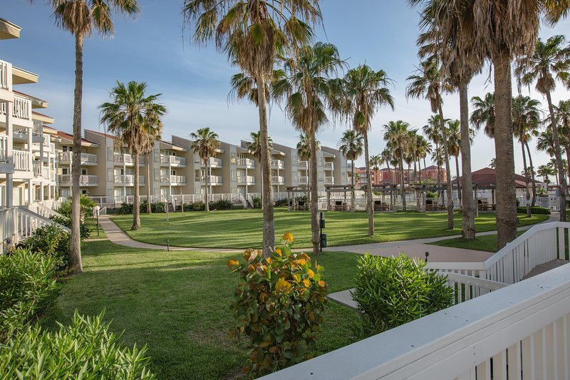 Views of the condominium complex grounds - Gulf Point #2309 - South Padre Island - rentals