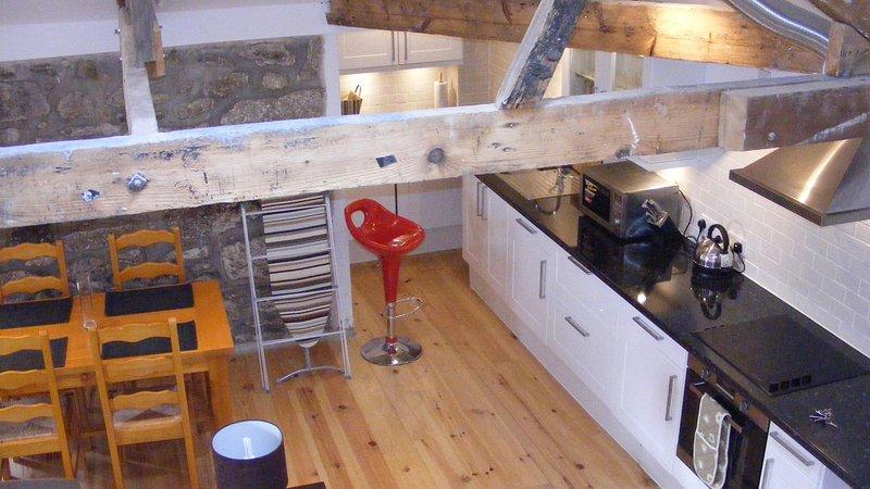 Sunny Corner Kitchen Diner - Sunny Corner Luxury Apartment - Penzance - rentals