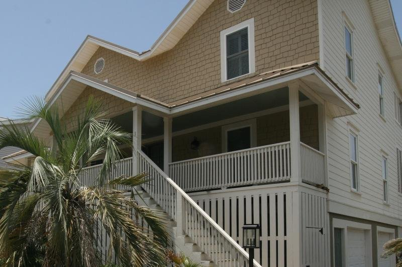Front of home on corner of Shipwatch Lane. - HIDEAWAY on the Beach ! Gorgeous view - Tybee Island - rentals