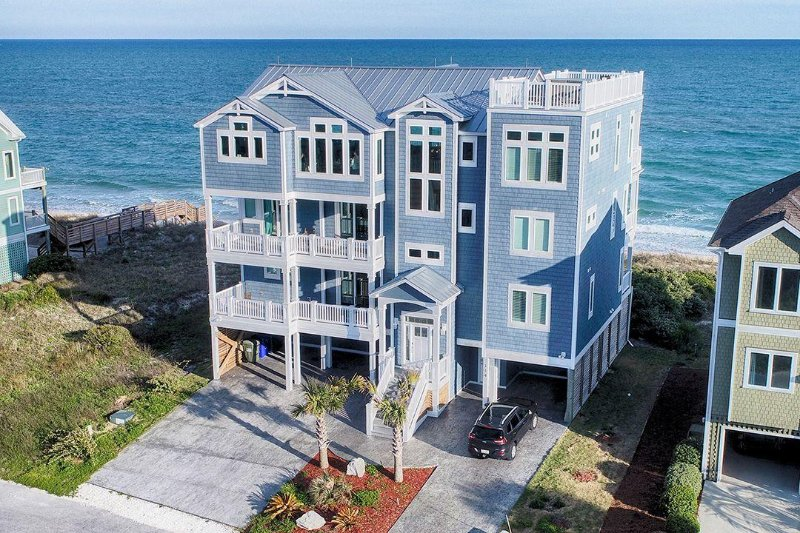 114 Ocean View - Ocean View Ln 114 -10BR_SFH_OF_28 - North Topsail Beach - rentals