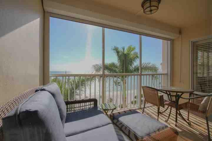 Enjoy panoramic views of the picturesque Gulf beach from your 7th floor private screened lanai! - Continental Club- Luxury 7th Flr. Beach Front Condo-Enjoy Panoramic Gulf Views - Naples - rentals