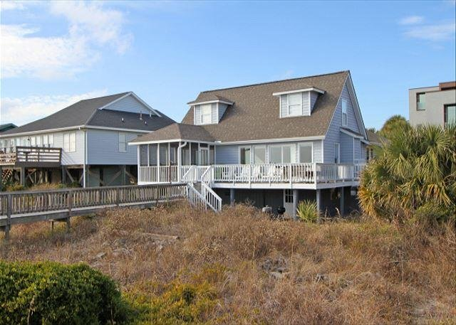 Blue Bayou - Traditional Oceanfront Home - Image 1 - Folly Beach - rentals