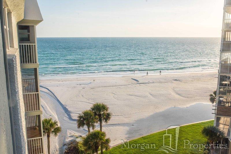 Morgan Properties - Crescent Arms #703N - Updated 2 bed / 2 bath Gulf view - Image 1 - Siesta Key - rentals