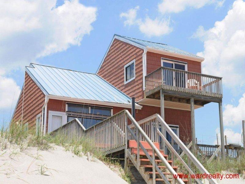 Oceanfront Exterior - Sea Dog - Surf City - rentals