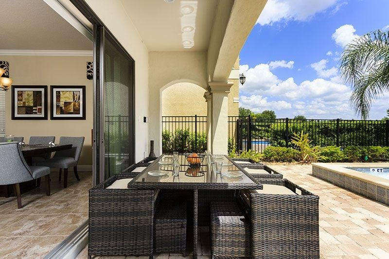 Luxury 5 Bedroom 5.5 Bathroom Reunion Resort Pool Home. 845DMV - Image 1 - Reunion - rentals