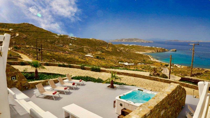 Blue Villas | Delos View Summer House II - Image 1 - Mykonos Town - rentals