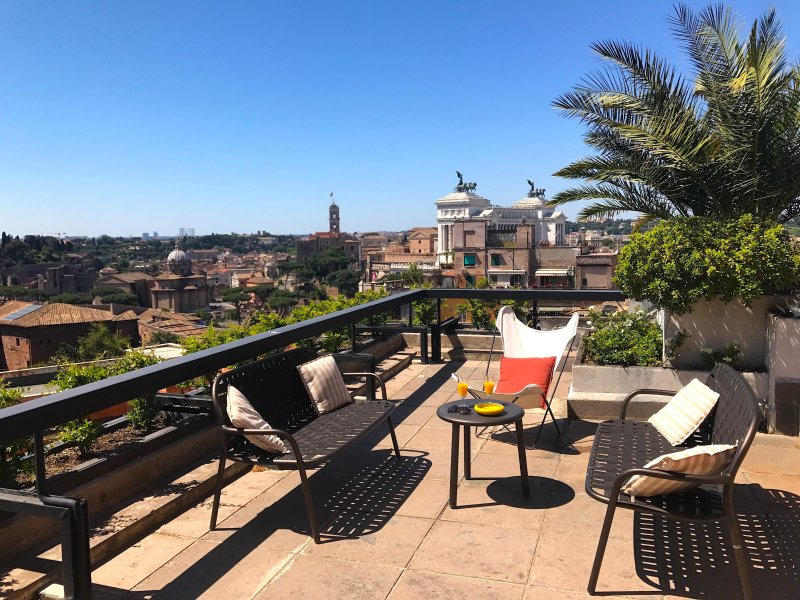 Rome Penthouse, Trevi Fountain, with Spectacular Terraces, 3 Bedrooms, 2 Bath - Image 1 - Rome - rentals