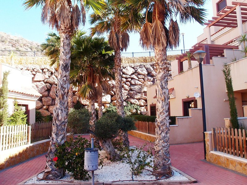 Outside the apartment - Hilltop apartment with views of Aguilas bay/castle - Aguilas - rentals