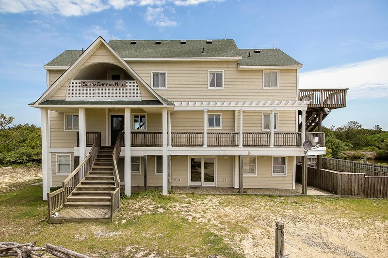 Your home at the beach... Sandy Cheeks! - Spacious, Updated Canal Front home - Inquire about July & August 2017 Specials!! - Carova Beach - rentals