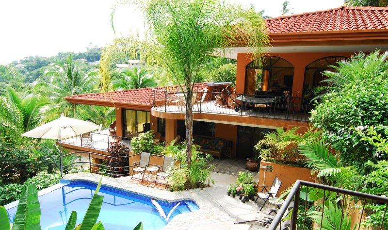 CasaTolteca - Your private luxury estate nestled in the Manuel Antonio Rain-Forest - CasaTolteca -Your Private Luxury Estate Near Beach - Manuel Antonio National Park - rentals
