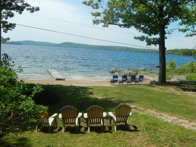 Swan Lake Waterfront Cottage A/C & Heat - Image 1 - Frankfort - rentals