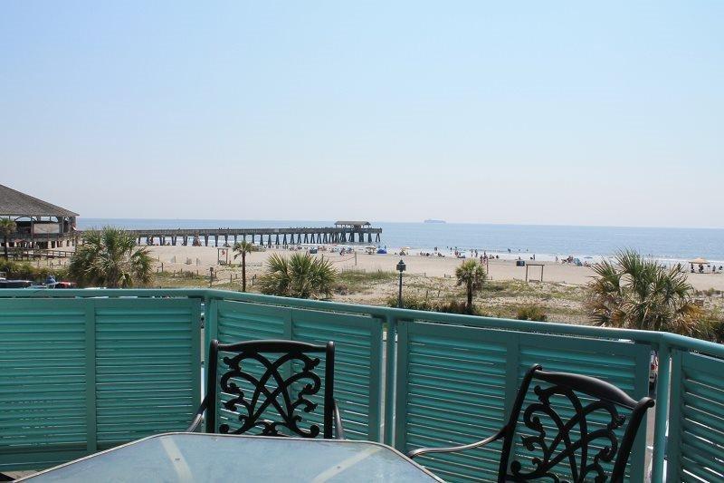 Sandpiper Condominiums - Unit 206 - Ocean Front Panoramic Views of Tybee Beach - Image 1 - Tybee Island - rentals