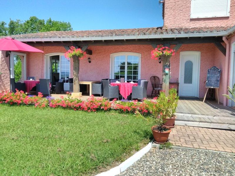 Terrace - La Maison Rose - Marciac - rentals