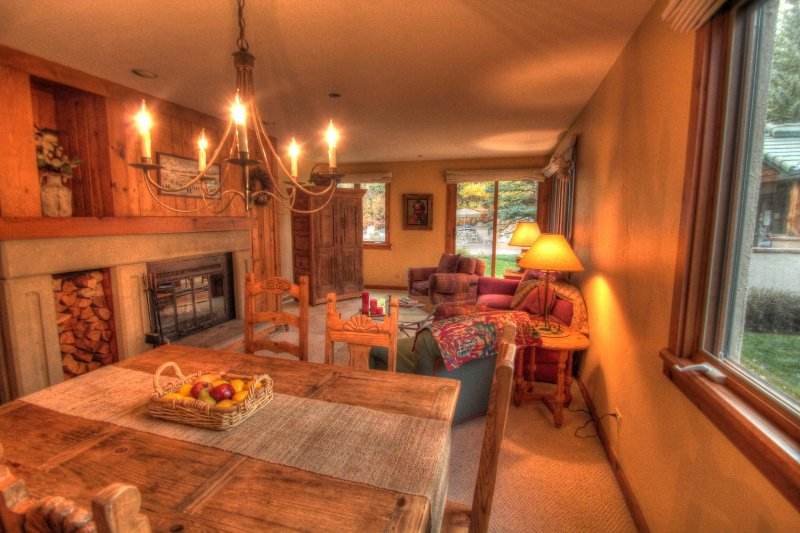 """SkyRun Property - """"236 Kiva"""" - Living Area - View of the living area from the dining room. - 236 Kiva - Beaver Creek - rentals"""