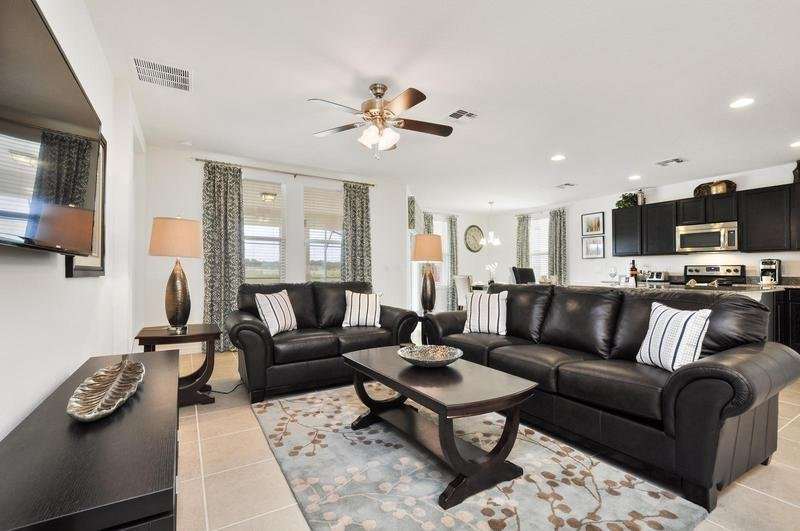 Lovely 4 Bedroom 3 Bath Pool Home Near Disney In Gated Community. 1303YC - Image 1 - Loughman - rentals