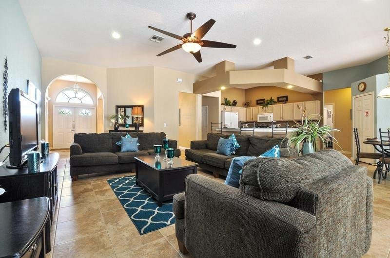5 Bedroom 3 Bath Pool Home With Games Room. 222NW - Image 1 - Four Corners - rentals