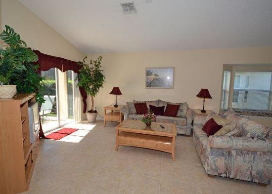 Lovely 4 Bedroom 3 Bathroom Villa Located in Southern Dunes. 3071BL - Image 1 - Orlando - rentals