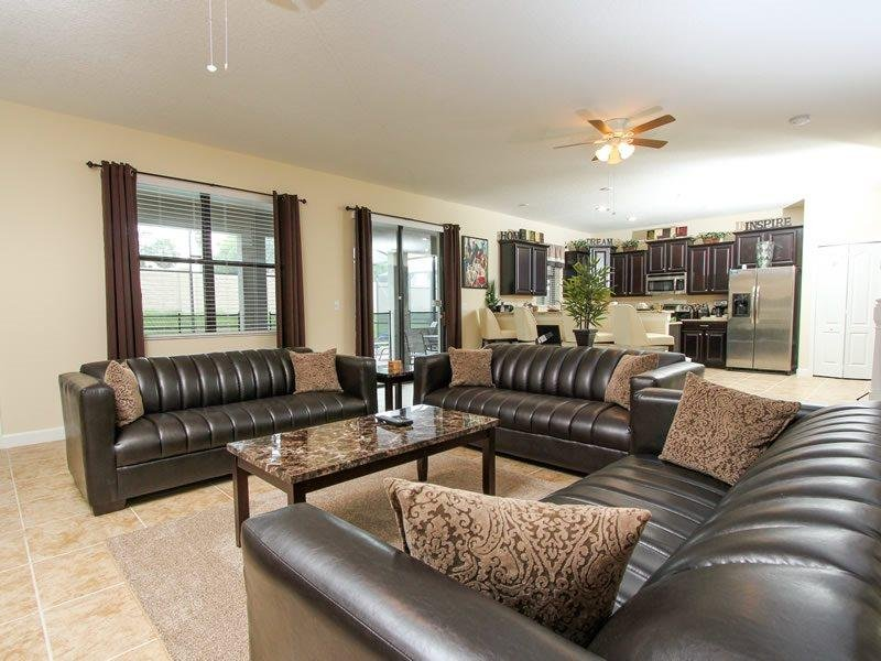 Spectacular 6 Bed 6 Bath Pool Home In Champions Gate. 1508MVD - Image 1 - Orlando - rentals