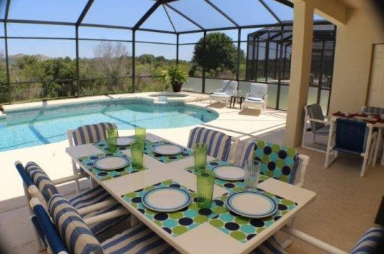 Beautiful 5 Bedroom 4.5 Bath Pool Home in Westhaven. 524BD - Image 1 - ChampionsGate - rentals