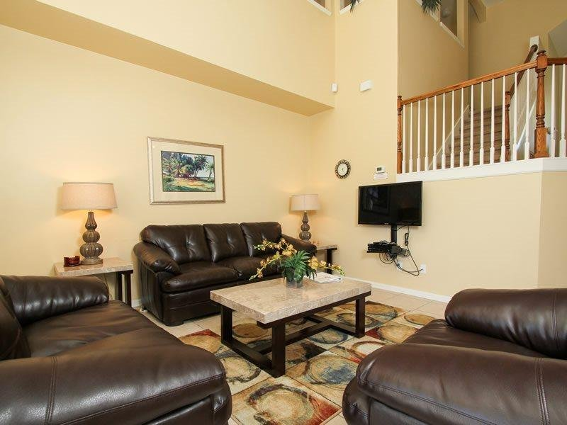 6 Bed 4 Bath with South Facing Pool in Gated Resort. 8167SPD - Image 1 - Orlando - rentals