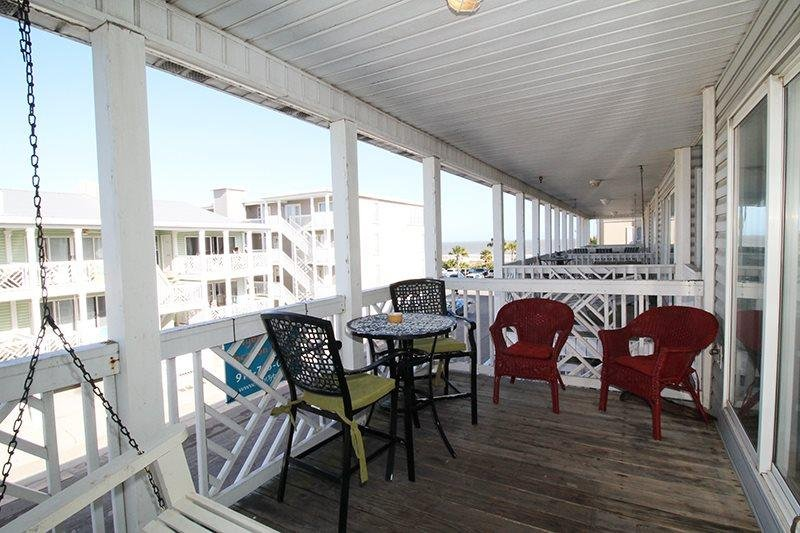 South Beach Ocean Condos, South - Unit 8 - Just Steps to the beach - Ocean View - Image 1 - Tybee Island - rentals