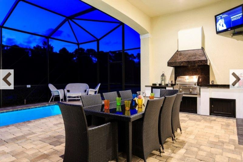 Stunning 7 Bedroom 6 Bath Reunion Resort Pool Home. 1200WW - Image 1 - Campbellton - rentals