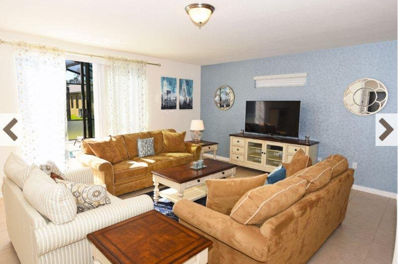 Lovely Cypress Pointe 6 Bedroom 4 Bath Pool Home. 1020CPB - Image 1 - Davenport - rentals