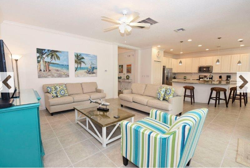 6 Bedroom 6.5 Bath Pool Home in Gated Bella Vida. 4557CL - Image 1 - Kissimmee - rentals