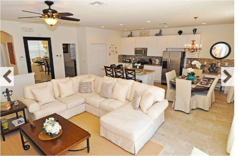 Bella Vida 4 Bedroom 3 Bath Town Home with Pool. 601LFD - Image 1 - Kissimmee - rentals