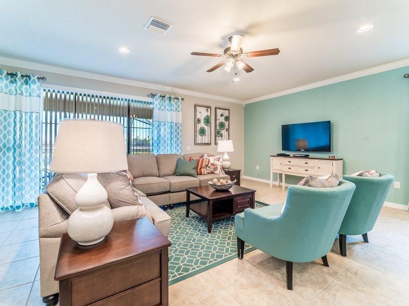 8 Bedroom 6 Bath Pool Home at Windsor at Westside Resort. 2111TC - Image 1 - Four Corners - rentals