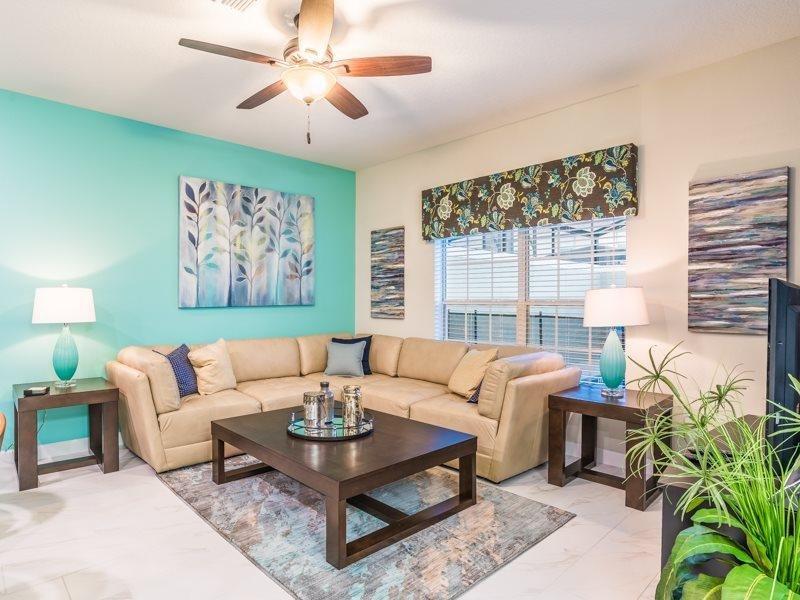 New 4 Bedroom 3 Bathroom Town Home with Pool in Storey Lake Resort. 4805BRL - Image 1 - Orlando - rentals