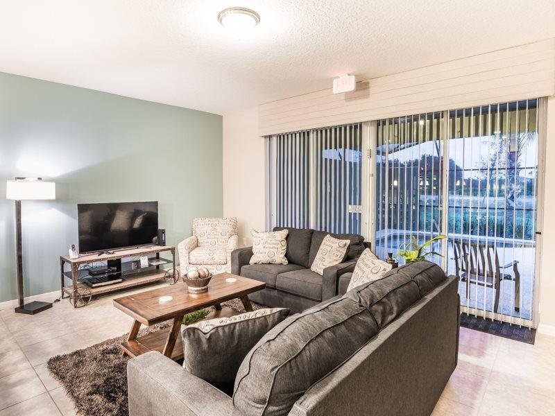 Solterra Resort 4 Bed 3.5 Bath Townhome With Pool. 4758TSD - Image 1 - Kissimmee - rentals