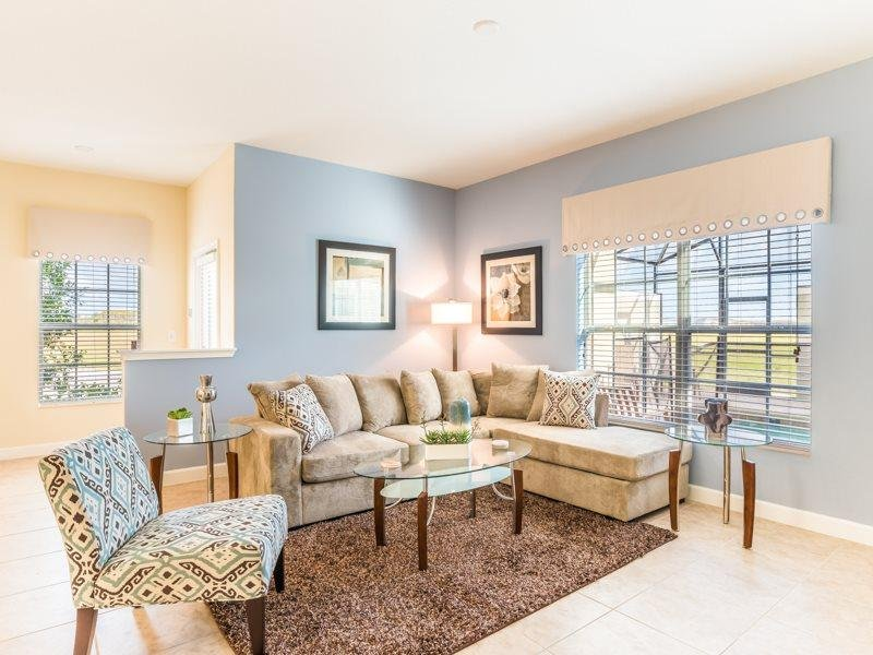 Stylish 5 Bed 4 Bath Pool Townhome in Storey Lake Resort. 4784CTD - Image 1 - Orlando - rentals