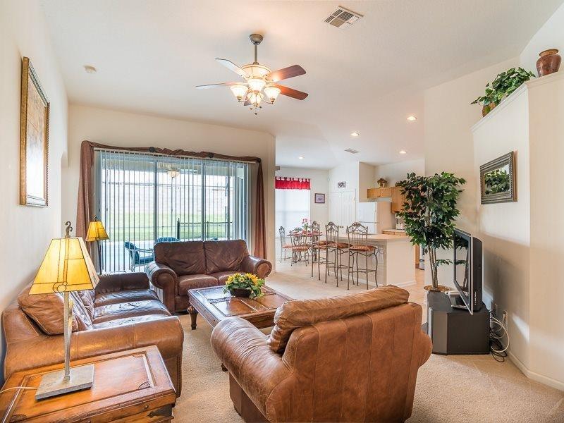 Stunning 4 Bed 3 Bath Pool Home in Windsor Palms Resort. 2241WPW - Image 1 - Orlando - rentals