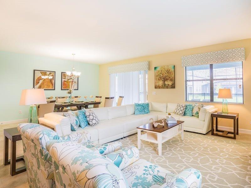 Beautiful 9 Bedroom Pool Home In ChampionsGate Golf Resort. 1470RFD - Image 1 - Kissimmee - rentals