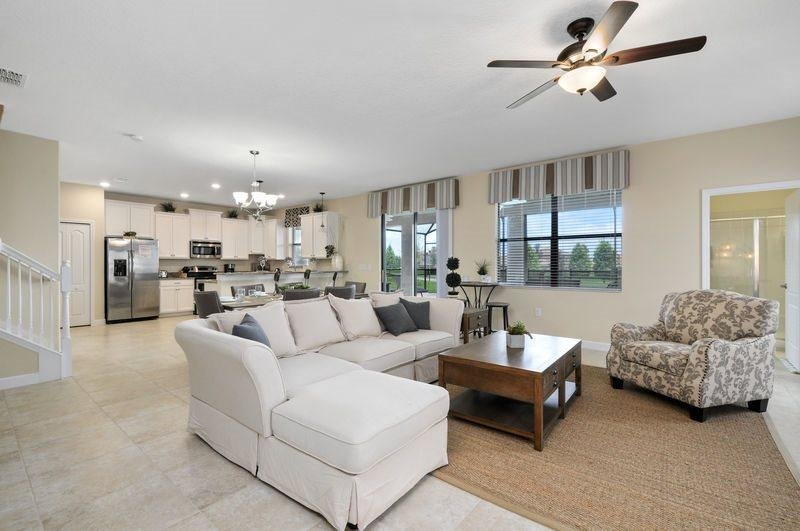 6 Bedroom Pool Home In The Fabulous ChampionGate Golf Resort. 1419RFD - Image 1 - Kissimmee - rentals