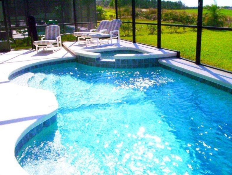 5 Bed 3 Bath Golf Home With South Facing Pool & Spa. 506BON. - Image 1 - Four Corners - rentals
