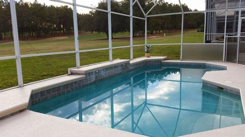 4 Bed 3 Bath Disney Pool Home With Fantastic Golf Course View. 332HCD - Image 1 - Four Corners - rentals