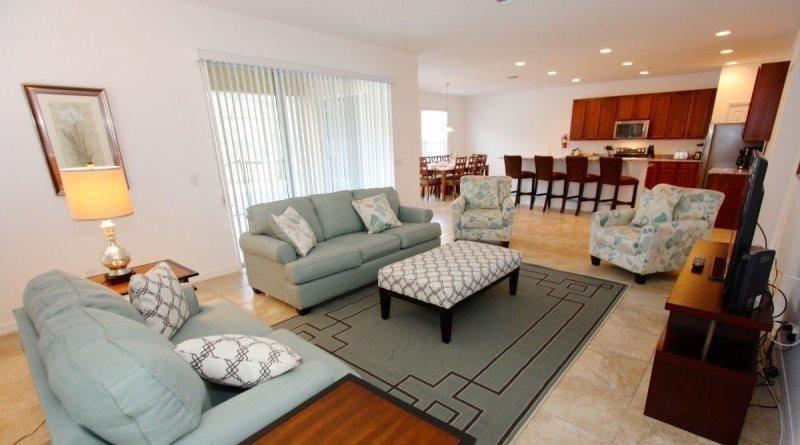 Mediterranean Styled 6 Bedroom 5.5 Bathroom Pool Home in Watersong. 456OCB - Image 1 - Orlando - rentals