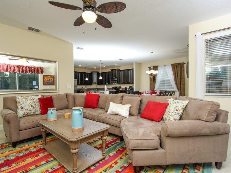 6 Bedroom 5 Bath Resort Pool Home with Spa. 2958BPD - Image 1 - Orlando - rentals