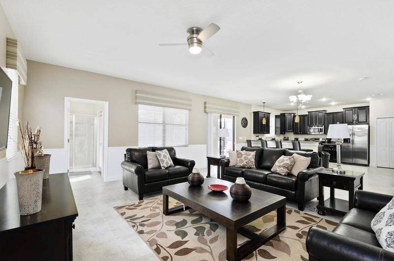 6 Bedroom 6 Bathroom Pool Home In ChampionsGate Golf Community. 1427WW - Image 1 - Orlando - rentals