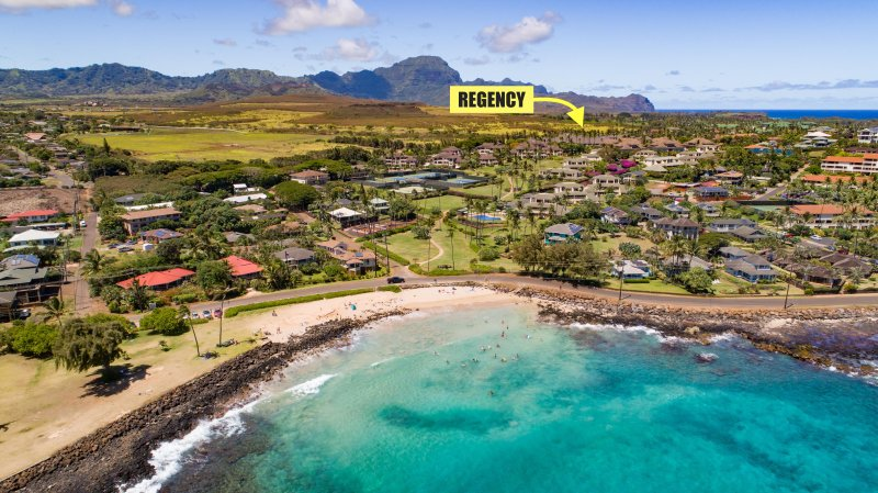 Regency 810 Central A/C condo. FREE mid-size car with your reservation. - Image 1 - Koloa - rentals