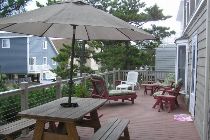 Fabulous Deck Space at 2. 4th St. Second house from the ocean! - Great 6 Night Week in August Still Available for 8 People 2nd House to the - Bay View Park - rentals