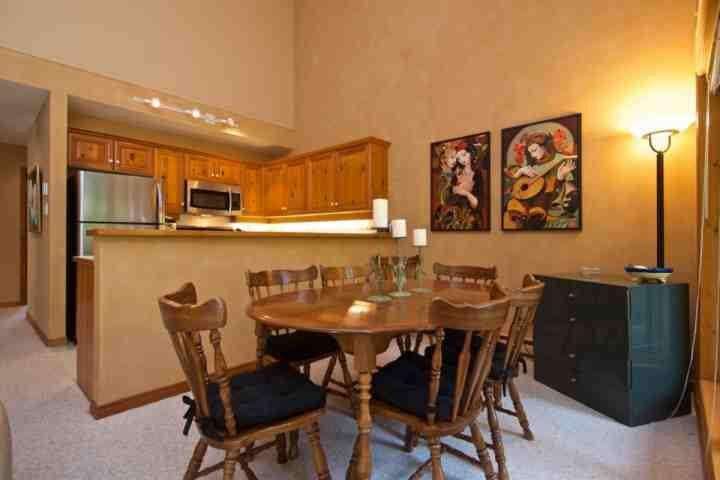 Dining for 6 - Painted Cliff Unit 2 - Whistler - rentals
