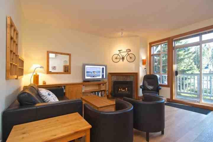 New hardwood floors, Gas fireplace and very cozy - Granite Court Unit 107 - Whistler - rentals
