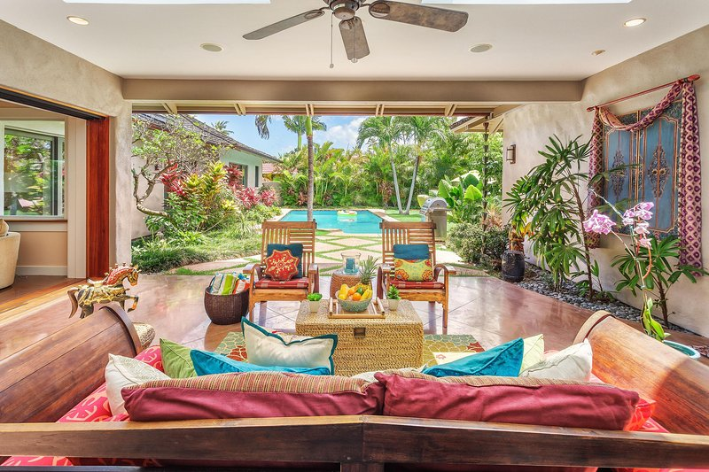 Outdoor Covered Lanai - Oceanside Paradise - Honolulu - rentals