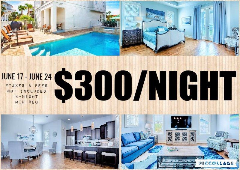Sea 'N Stars: BRAND NEW! Pool/Spa, Elevator, Near Beach! - Image 1 - Destin - rentals