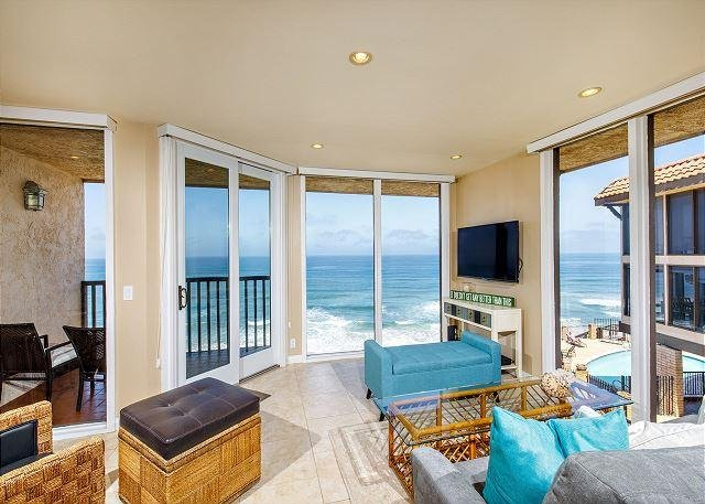 A LITTLE SEACLUSION - Oceanfront, 1 Bedroom Condominium - DMST25 - Image 1 - Solana Beach - rentals